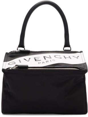 dced6cd663 Givenchy Black Small Band Logo Pandora Bag