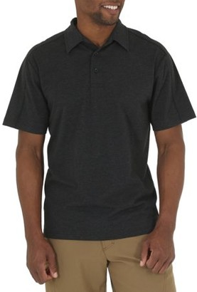 Wrangler Men's Short Sleeve Tri-Blend Polo