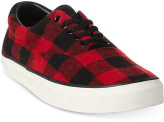 Polo Ralph Lauren Men's Thorton Check Sneakers Men's Shoes