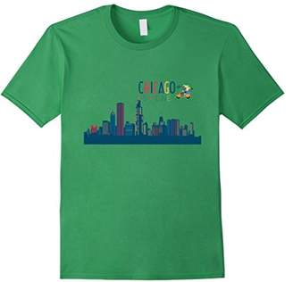 Chicago Skyline Silhouette T-Shirt