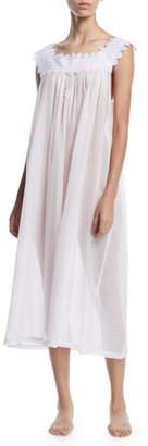 Celestine Ninifee Lace-Trim Sleeveless Nightgown