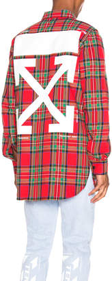 Off-White All Over Check Shirt