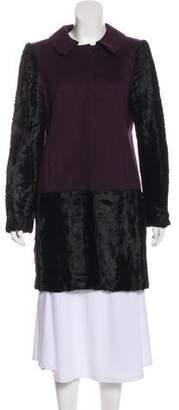 Tibi Wool Knee-Length Coat