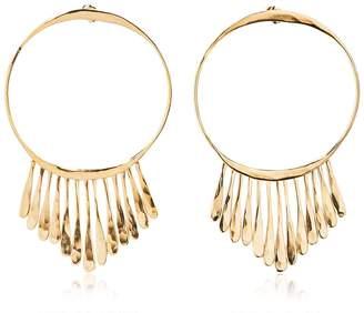 Aurelie Bidermann Vera Hoop Earrings