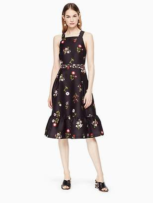 Kate Spade In bloom fit and flare dress