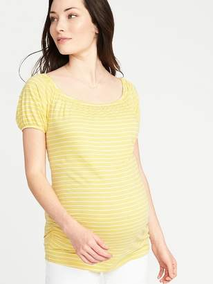 Old Navy Maternity Side-Shirred Jersey Top