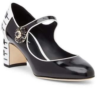 Dolce & Gabbana Valley Mary Jane Mid Pump
