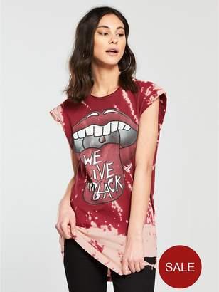 Religion Lips Printed T-shirt