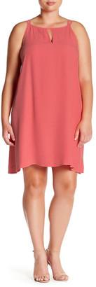 BB Dakota Sleeveless Trapeze Dress (Plus Size) $95 thestylecure.com