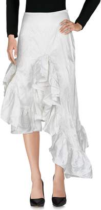 Marques Almeida MARQUES' ALMEIDA 3/4 length skirts