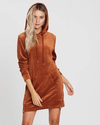 Lush Hoodie Dress