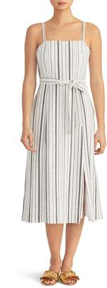 Rachel Roy Collection Stripe Linen Blend Sundress