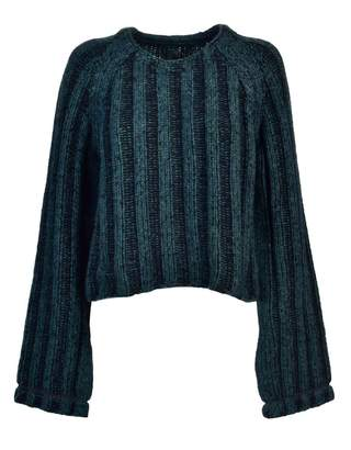 MM6 MAISON MARGIELA Mm6 Cropped Knit Sweater