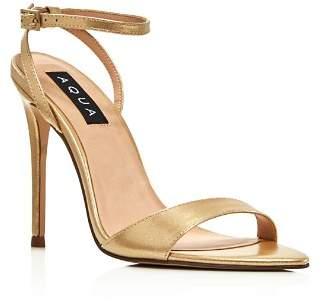 Aqua Women's Kiki Metallic High-Heel Sandals - 100% Exclusive