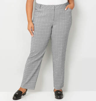 Avenue Glen Plaid Super Stretch Trouser