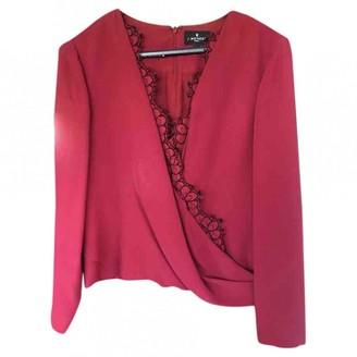 J. Mendel J.Mendel J.mendel Burgundy Silk Top for Women