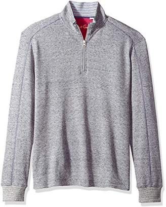 Robert Graham Men's Easy Rider Cotton 1/4 Zip Knit