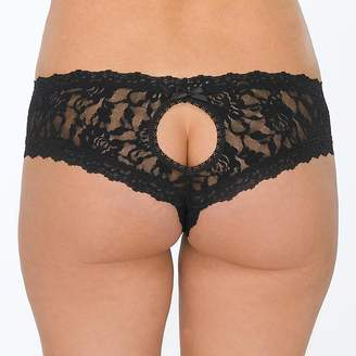 Hanky Panky Signature Lace Open Crotch Cheeky Hipster