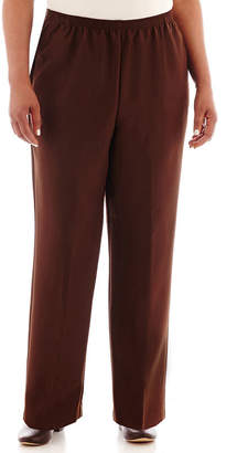 Alfred Dunner Classic Pull On Pants - Plus