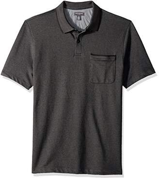 Van Heusen Men's Flex Short Sleeve Polo