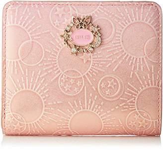 Anna Sui (アナ スイ) - [アナ スイ]二つ折り財布 【新色】 ガラクシア ピンク