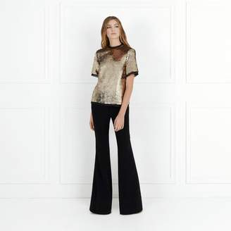 Rachel Zoe Reed Stretch-Crepe Flare Pants
