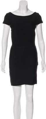 Herve Leger Short Sleeve Mini Dress