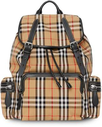 7b3bccc1c89 Burberry The Large Rucksack in Vintage Check