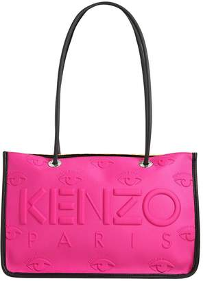 Kenzo Kombo Embossed Neoprene Tote Bag