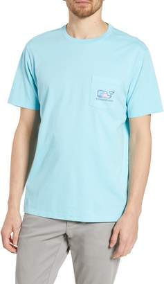 Vineyard Vines Tuna Starfish Whale Logo Pocket T-Shirt