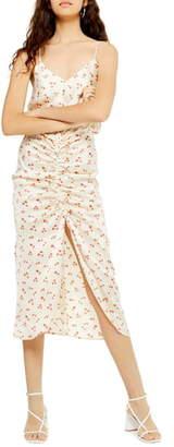 Topshop Ditsy Floral Slipdress