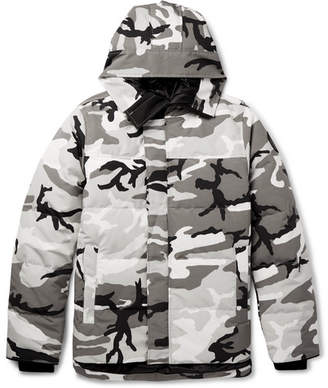Canada Goose Macmillan Camouflage-Print Quilted Shell Down Jacket
