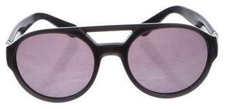 Saint Laurent Tinted Aviator Sunglasses