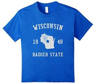 Wisconsin Badger State Vintage T-shirt