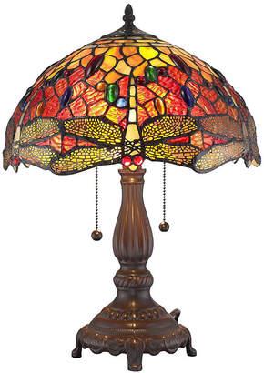 Tiffany & Co. AMORA Amora Lighting AM1035TL14 Style DragonflyTable Lamp 2 light