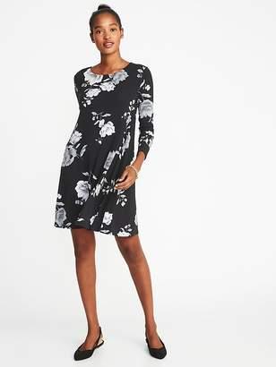 Old Navy Jersey Swing Dress for Women