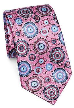 Ermenegildo Zegna Men's Silk Medallion Tie