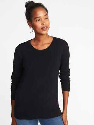 Old Navy Classic Crew-Neck Sweater for Women