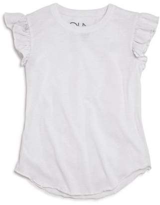Chaser Girls' Flutter-Sleeve Tee - Little Kid, Big Kid
