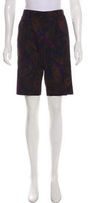 Marc Jacobs Floral Print Knee-Length Shorts