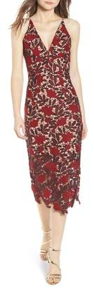 Dress the Population Aurora Embroidered Sheath Dress