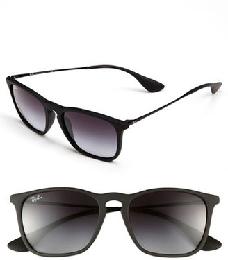 Women's Ray-Ban 'Youngster' 54Mm Square Keyhole 54Mm Sunglasses - Black $140 thestylecure.com