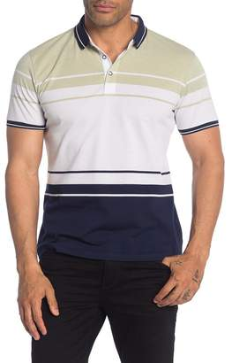 TR Premium Striped Pique Polo Shirt
