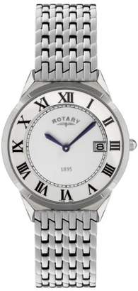 Rotary 'Ultra Slim' Quartz Stainless Steel Casual Watch
