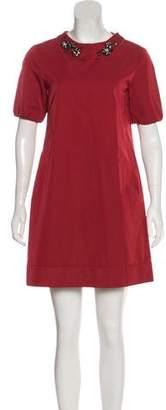 Max Mara Short Sleeve Mini Dress