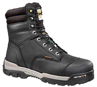 Carhartt Men's CSA 8-inch Ground Force Wtrprf Insulated Work Boot Comp Safety Toe CMR8959 Industrial
