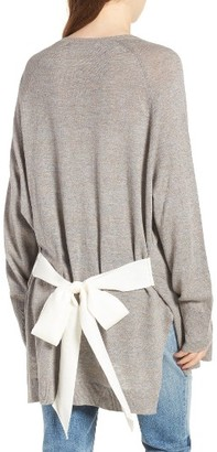 Women's Hinge Tie Back Cardigan $69 thestylecure.com