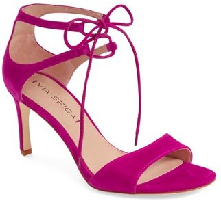 Women's Via Spiga 'Skylar' Open Toe Dress Sandal $195 thestylecure.com