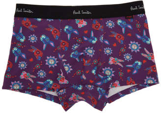 Paul Smith Purple Paisley Bunnies Boxer Briefs