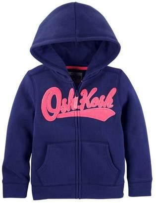 Osh Kosh OshKosh Girls Girls' Full Zip Logo Hoodie